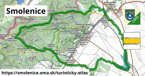 ikona Smolenice: 31km trás turisticky-atlas  smolenice