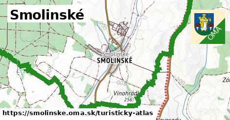 ikona Smolinské: 0m trás turisticky-atlas v smolinske
