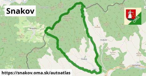 ikona Mapa autoatlas  snakov
