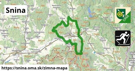 ikona Zimná mapa zimna-mapa  snina