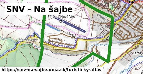 ikona SNV - Na šajbe: 0m trás turisticky-atlas  snv-na-sajbe