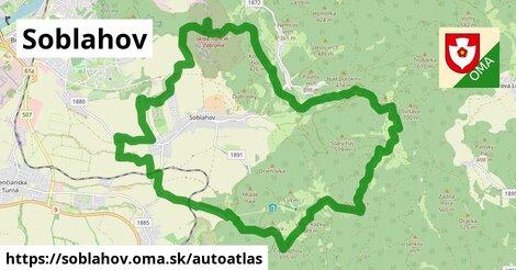 ikona Mapa autoatlas  soblahov