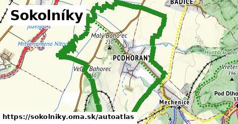 ikona Mapa autoatlas  sokolniky