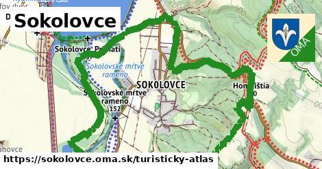 ikona Sokolovce: 1,96km trás turisticky-atlas  sokolovce
