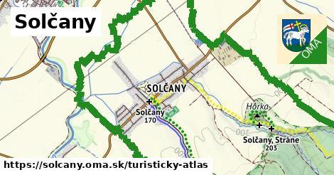 ikona Turistická mapa turisticky-atlas  solcany