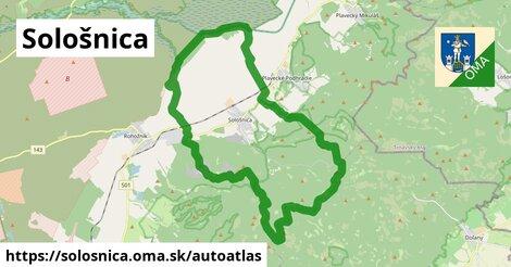 ikona Mapa autoatlas  solosnica