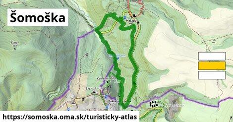 ikona Šomoška: 2,6km trás turisticky-atlas  somoska