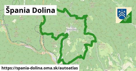 ikona Mapa autoatlas  spania-dolina
