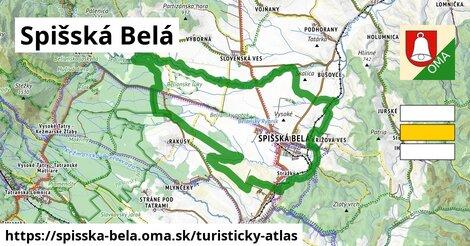 ikona Turistická mapa turisticky-atlas  spisska-bela