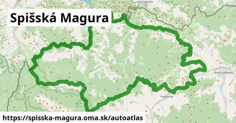 ikona Mapa autoatlas v spisska-magura