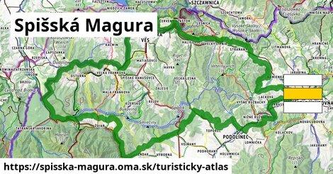 ikona Turistická mapa turisticky-atlas  spisska-magura