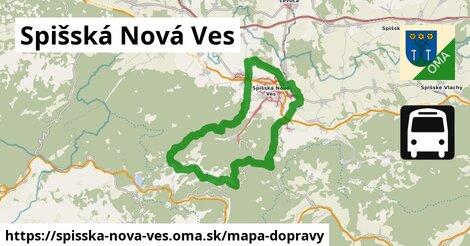 ikona Spišská Nová Ves: 714km trás mapa-dopravy  spisska-nova-ves