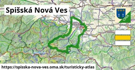 ikona Turistická mapa turisticky-atlas  spisska-nova-ves