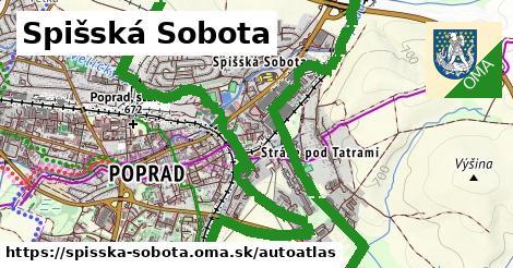 ikona Mapa autoatlas  spisska-sobota