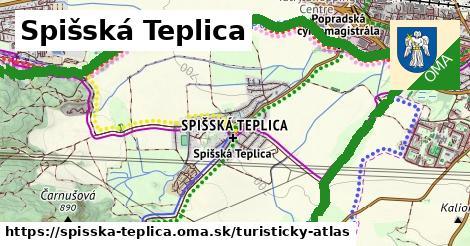 ikona Turistická mapa turisticky-atlas  spisska-teplica