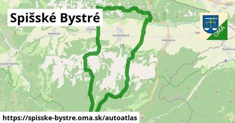 ikona Mapa autoatlas  spisske-bystre
