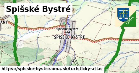 ikona Turistická mapa turisticky-atlas  spisske-bystre
