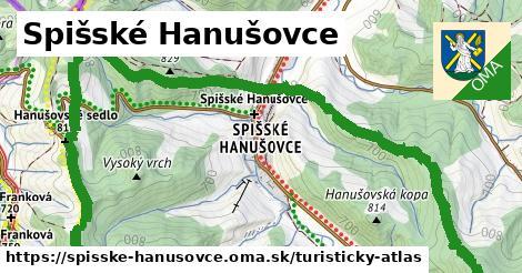 ikona Turistická mapa turisticky-atlas  spisske-hanusovce