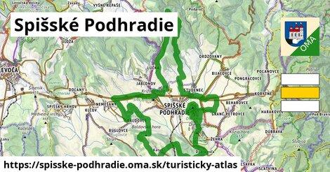 ikona Turistická mapa turisticky-atlas  spisske-podhradie