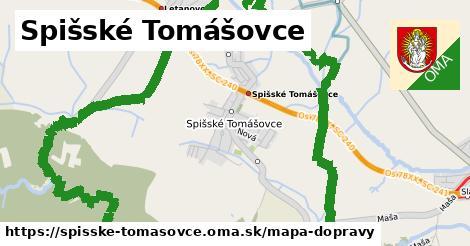 ikona Mapa dopravy mapa-dopravy  spisske-tomasovce