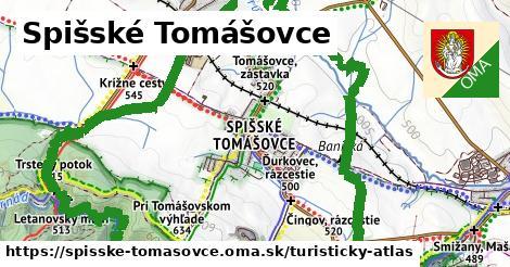 ikona Turistická mapa turisticky-atlas  spisske-tomasovce