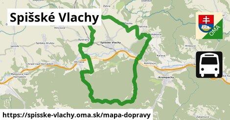 ikona Mapa dopravy mapa-dopravy  spisske-vlachy
