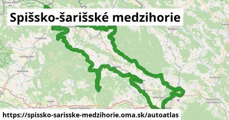 ikona Mapa autoatlas  spissko-sarisske-medzihorie