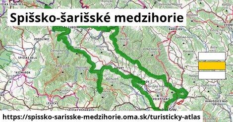 ikona Turistická mapa turisticky-atlas  spissko-sarisske-medzihorie