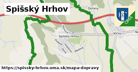ikona Mapa dopravy mapa-dopravy v spissky-hrhov
