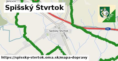 ikona Mapa dopravy mapa-dopravy v spissky-stvrtok