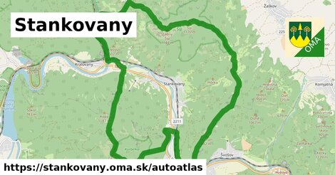 ikona Mapa autoatlas  stankovany