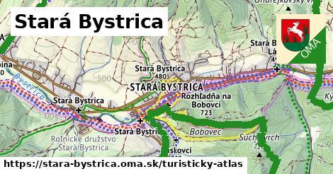 ikona Turistická mapa turisticky-atlas  stara-bystrica