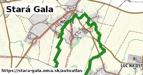 ikona Mapa autoatlas  stara-gala