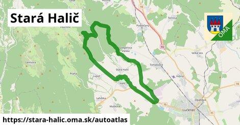 ikona Mapa autoatlas  stara-halic