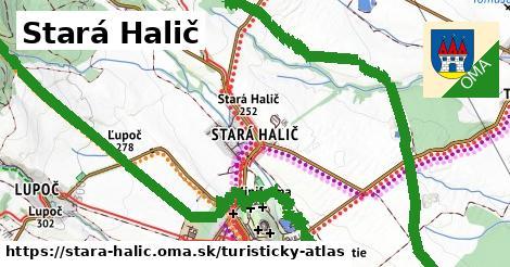ikona Turistická mapa turisticky-atlas  stara-halic