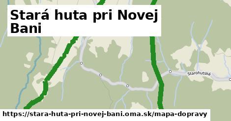 ikona Stará huta pri Novej Bani: 0m trás mapa-dopravy v stara-huta-pri-novej-bani