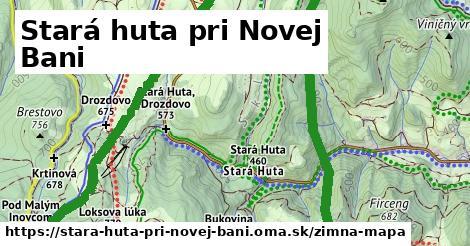 ikona Zimná mapa zimna-mapa v stara-huta-pri-novej-bani
