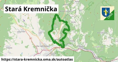 ikona Mapa autoatlas  stara-kremnicka