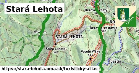 ikona Turistická mapa turisticky-atlas  stara-lehota