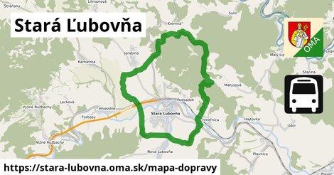ikona Mapa dopravy mapa-dopravy v stara-lubovna