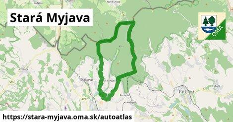 ikona Mapa autoatlas  stara-myjava