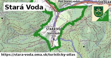 ikona Turistická mapa turisticky-atlas  stara-voda