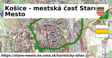 ikona Turistická mapa turisticky-atlas  stare-mesto.ke