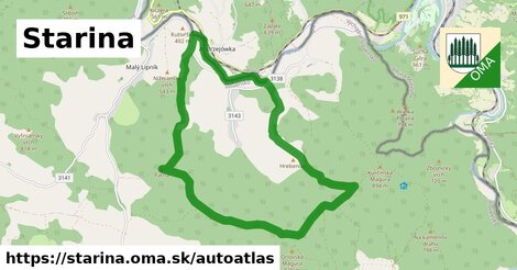 ikona Mapa autoatlas  starina