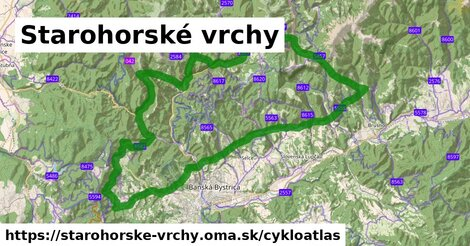 ikona Cykloatlas cykloatlas  starohorske-vrchy
