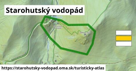 ikona Turistická mapa turisticky-atlas  starohutsky-vodopad