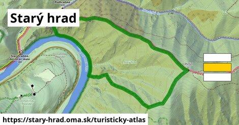 ikona Turistická mapa turisticky-atlas  stary-hrad