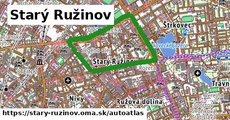 ikona Mapa autoatlas  stary-ruzinov