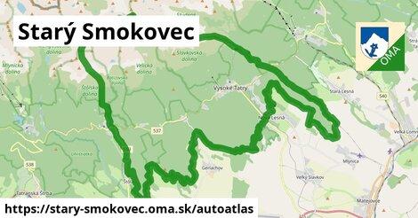 ikona Mapa autoatlas  stary-smokovec