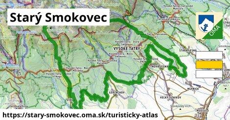 ikona Starý Smokovec: 49km trás turisticky-atlas  stary-smokovec
